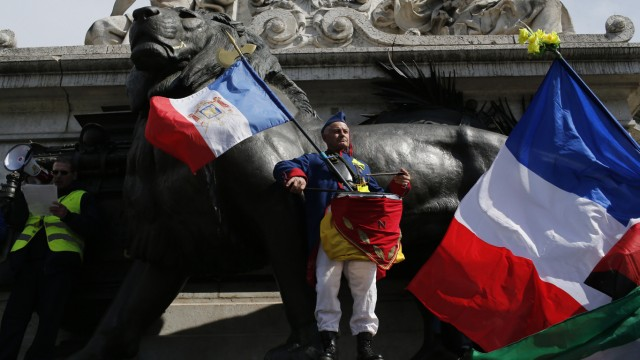 """Wieder ´Gelbwesten""""-Proteste in Frankreich"""