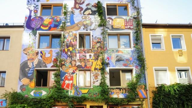 """Alternatives Wohnprojekt """"Ligsalz8""""in München, 2015"""