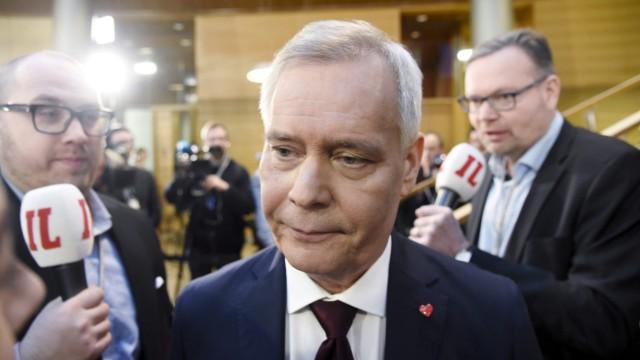 Finnland Wahl Antti Rinne