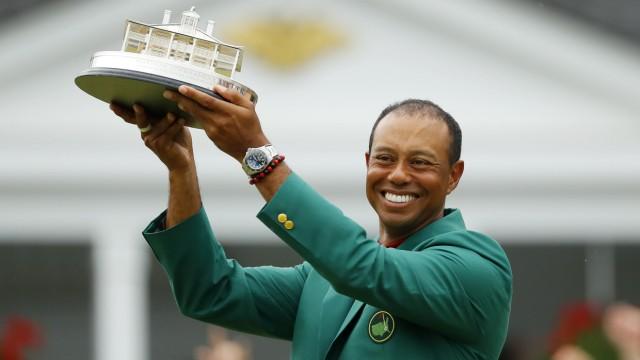 Tiger Woods gewinnt 2019 das Masters in Augusta