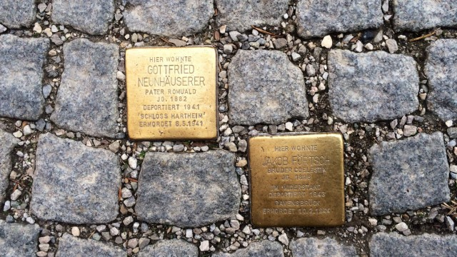 Geschichte Interview am Morgen: Stolpersteine