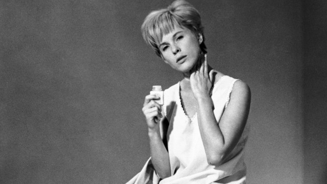1966 Persona Movie Set PICTURED BIBI ANDERSSON as Alma The Nurse RELEASE DATE Oct 18 1966