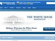 Obama, Weißes Haus, Myspace, US-Präsident