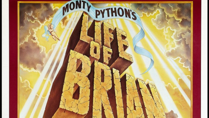Handmane Films Ltd DR LA VIE DE BRIAN LIFE OF BRIAN de Terry Jones 1979 GB affiche one sheet a