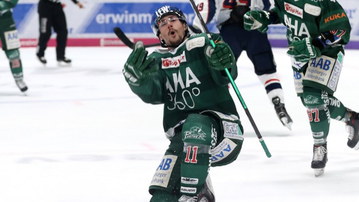 Ice hockey Eishockey DEL Augsburg vs RB Muenchen AUGSBURG GERMANY 14 APR 19 ICE HOCKEY DEL