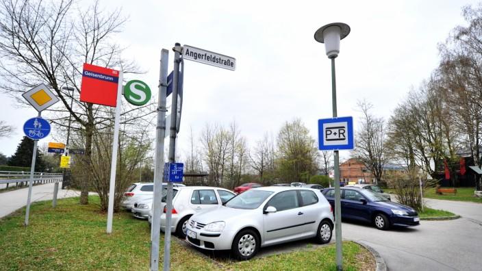 Geisenbrunn S-Bahn: Park & Ride