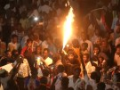 Sudan: Unermüdliche Protestler in der Nacht (Vorschaubild)