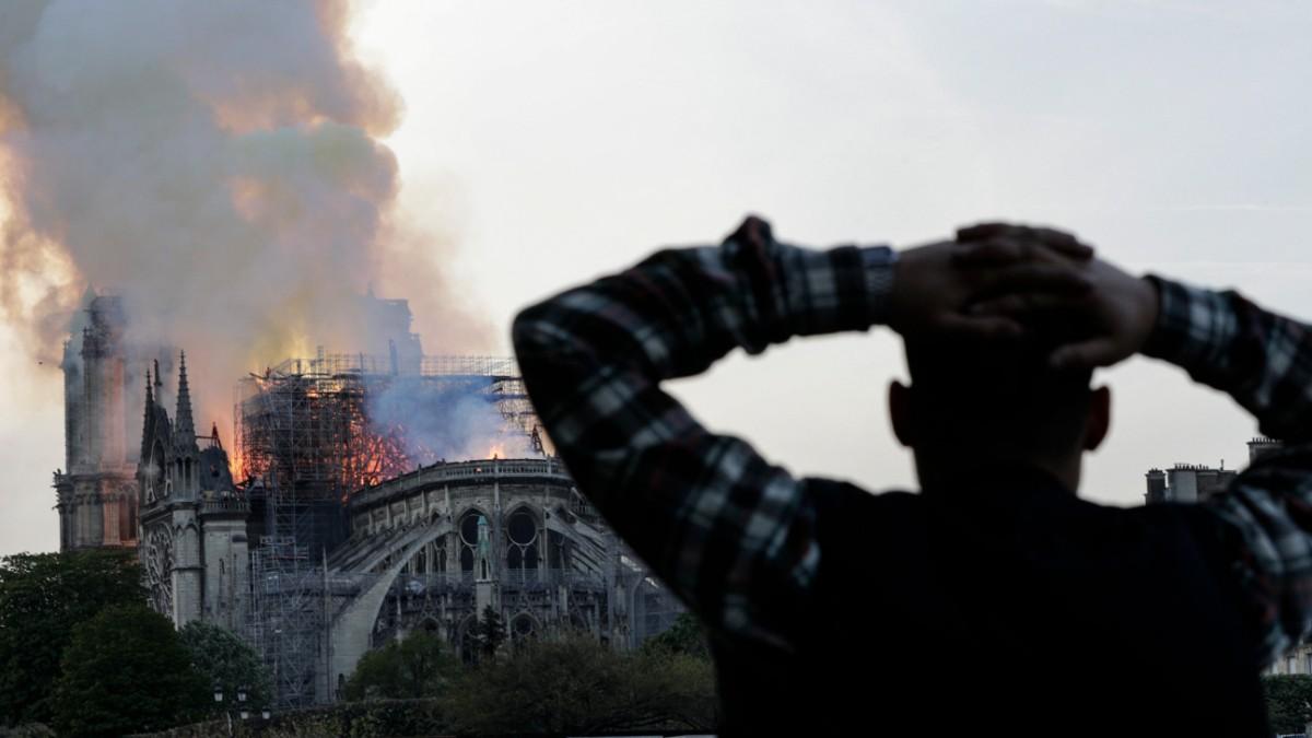 Notre-Dame - Das Feuer trifft Paris im Herzen