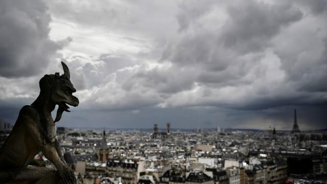 Kunst Brand in Notre-Dame
