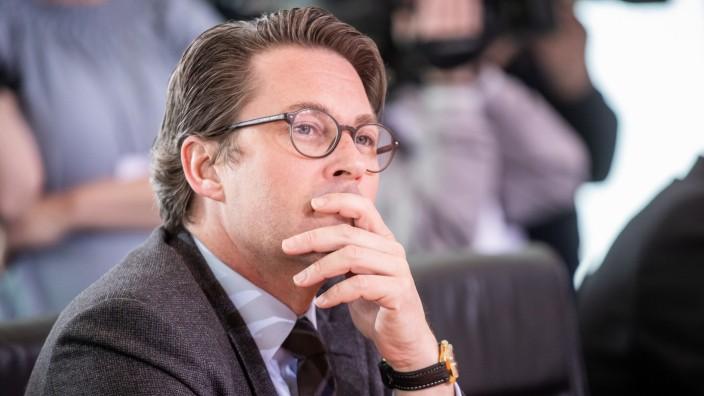 Andreas Scheuer (CSU) 2019 im Kanzleramt