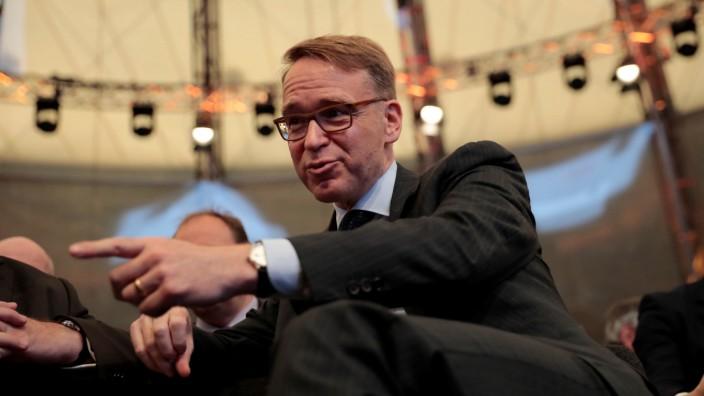 "Deutsche Bundesbank (German Federal Bank) President Weidmann attends the âĘG20 Africa Partnership âÄ"" Investing in a Common FutureâÄÖ Summit in Berlin"