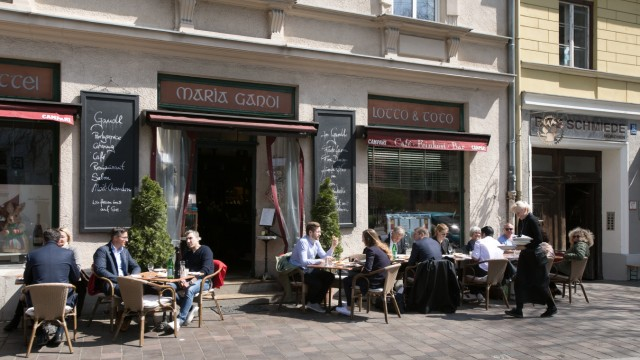Cafe Gandl, Frühstückscafe, St. Anna Platz 1