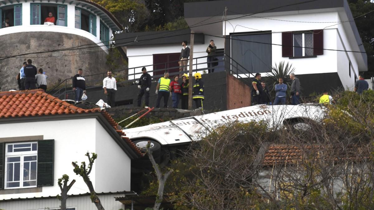 Busunglück auf Madeira: Tödlicher Sturz in die Tiefe