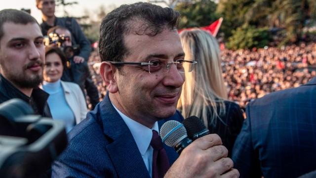 Politik Türkei Bürgermeisterwahl in Istanbul