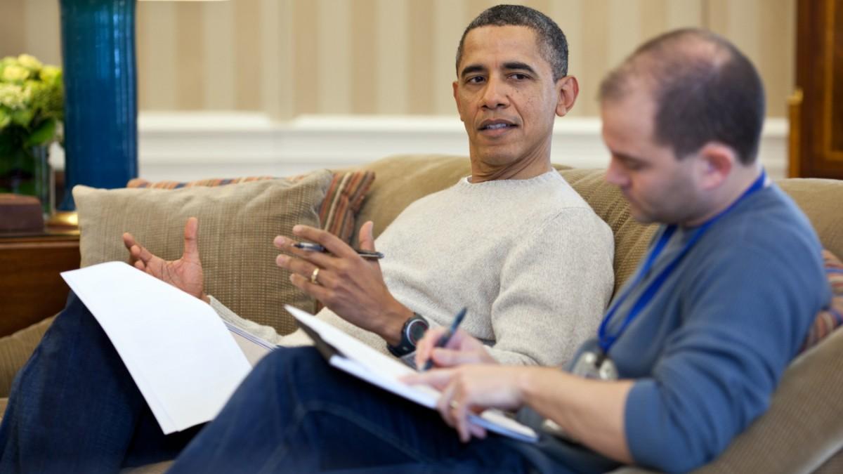 Der Mann hinter Barack Obama