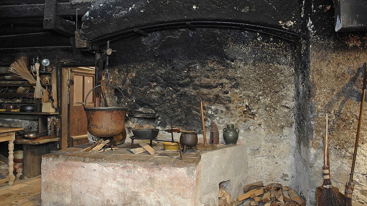 Küchenhölle im Schredl-Haus