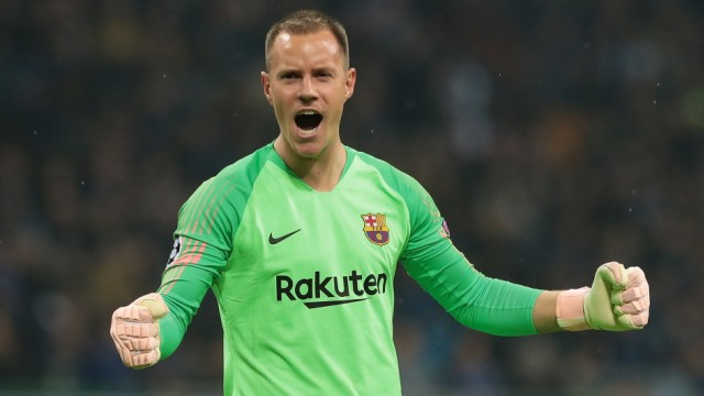 FC Internazionale v FC Barcelona - UEFA Champions League Group B; ter Stegen