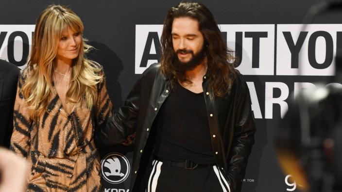 About you Award .Heid Klum mit Tom Kaulitz