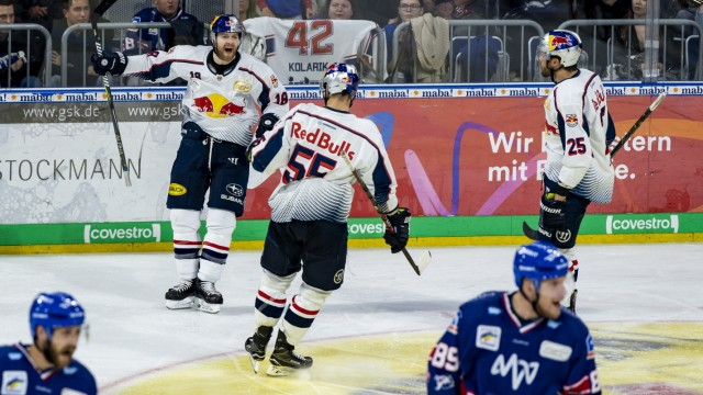 Adler Mannheim v EHC Red Bull Muenchen - DEL Play-Offs Semi Final Game 1