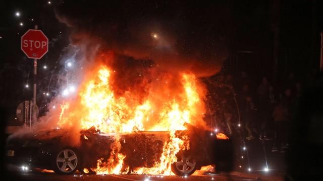 Soziale Unruhen in Londonderry