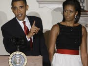 Michelle Obama; Barack Obama; AP