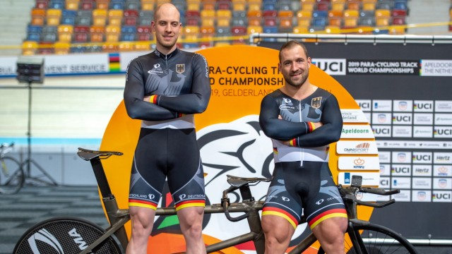 A training session of the UCI 2019 Para-Cycling Track World Championships - Final of the 1km time trial - 13.03.2019; Förstemann
