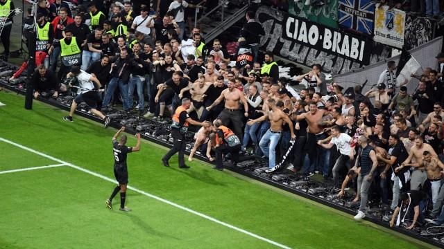 18 04 2019 xpsx Fußball UEFA Europa League 1 4 Finale Eintracht Frankfurt Benfica Lissabon emsp