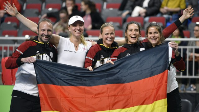 Fed Cup Lettland - Deutschland