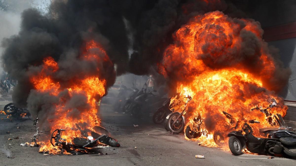 Mehr als 100 Festnahmen bei Gelbwesten-Demo