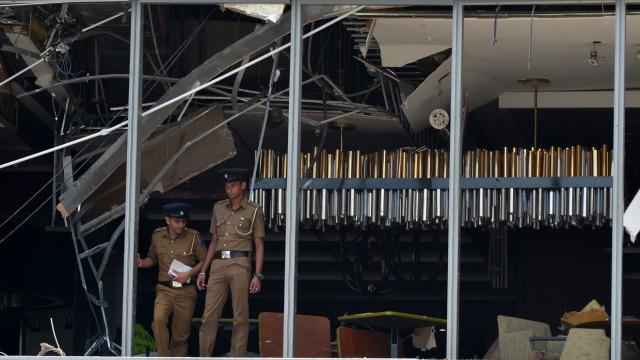Terrorismus Anschläge in Sri Lanka