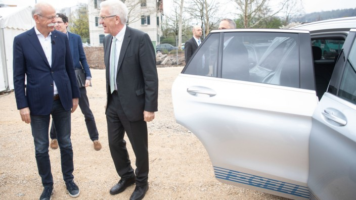 Grundsteinlegung für Daimler-Batteriefabrik
