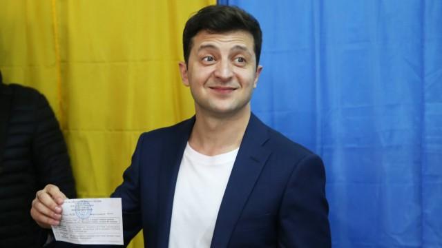 Stichwahl um Präsidentenamt in der Ukraine