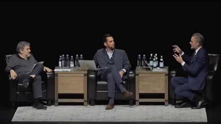 SCREENSHOT YouTube Peterson/ Žižek in der Diskussion