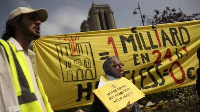 """´Gelbwesten""""-Proteste in Paris"""