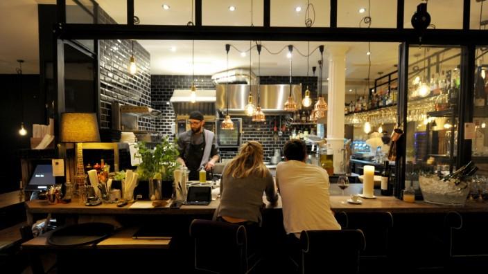 """Restaurant """"L'Adresse 37"""" in München, 2017"""
