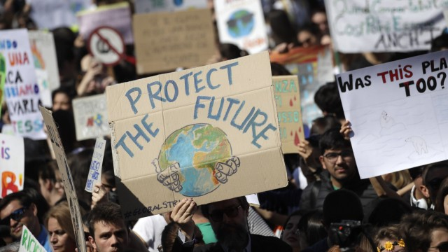 "´Fridays for Future"" in Rom"