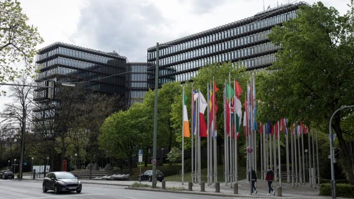 Europäisches Patentamt, Erhardtstraße München