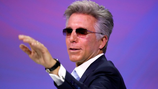 FILE PHOTO: SAT CEO Bill McDermott speaks at the Viva Tech start-up and technology summit in Paris