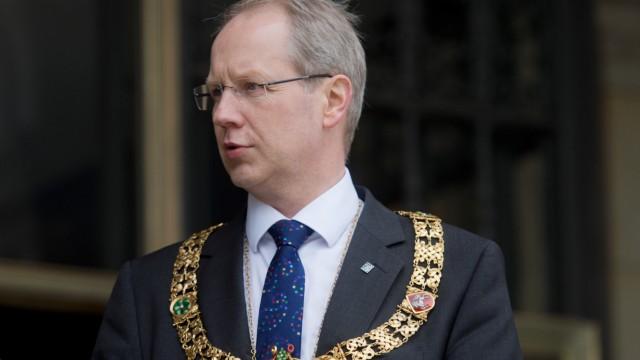Hannovers Oberbürgermeister Stefan Schostok