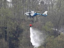 Waldbrand am Bleiloch-Stausee