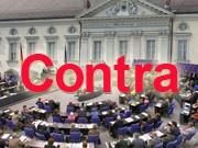Contra Direktwahl Bundespräsident