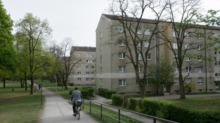 Wohnanlage Ittlingerstraße 40 bis 80 im Hasenbergl
