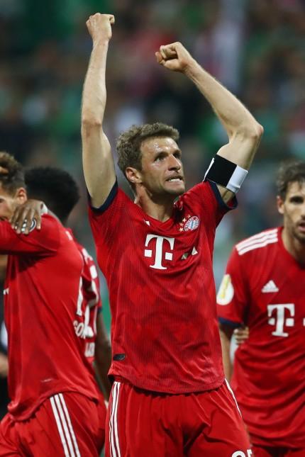 Werder Bremen v Bayern Munich - DFB Cup