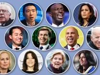 USA - Demokraten begeben sich für die Präsidentschaftskandidatur in Stellung