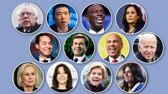 Politik USA Demokratische Präsidenschaftskandidaten