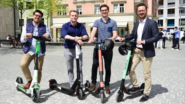 München Fünf E Scooter Verleiher In Startlöchern München