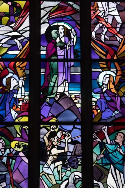 Fenster Christuskirche, Dom-Pedro-Platz 5, Neuhausen
