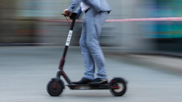 Rollen E-Scooter bald auch durch Sachsen?