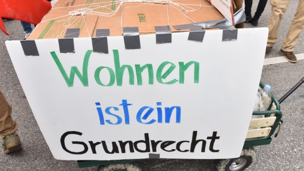 "Demonstration ""Ausspekuliert"" in München, 2018"