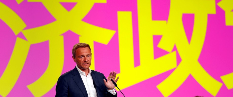 Germany's Free Democratic Party (FDP) party convention in Berlin